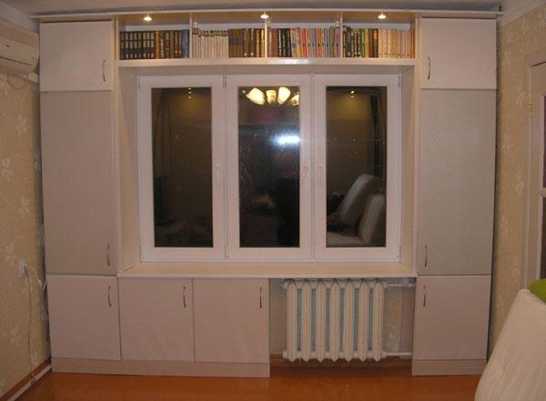 Фото шкафов от окон дизайн