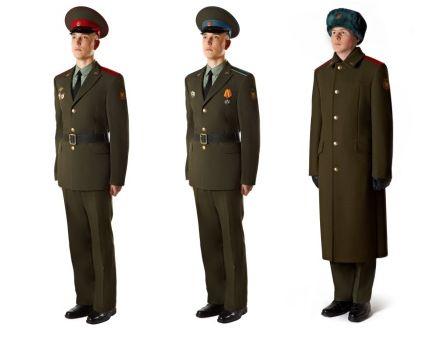 Форма военных, россии нового