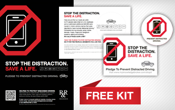 Free Distracted Driving Kit