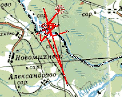 Река Медведица. Геопатогенная зона