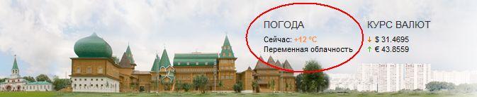 Полюс холода Москвы