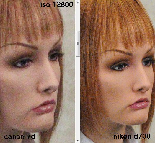 Canon 7D vs Nikon D700