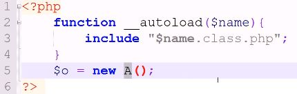 __autoload_ funktion PHP OOP