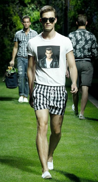Dolce Gabbana DG SUMMER 2011 MAN FASHION SHOW 17 D&G SUMMER 2011 MAN...