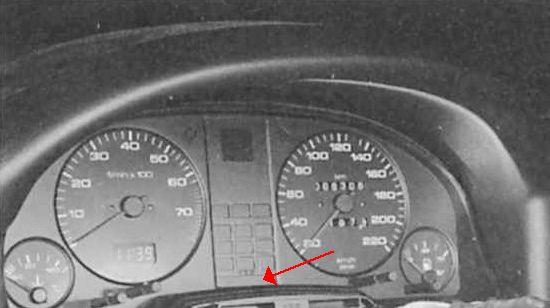 подсветка панели приборов на audi 80 - Все об Ауди и для Audi.