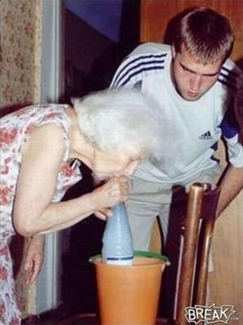 Голые бабки внук фото