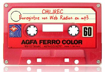 Chilirec, enregistre vos web radios en mp3