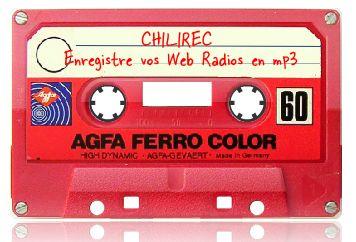 Chilirec, enregistre vos web radios en mp3