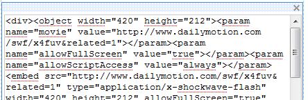 code html pas beau