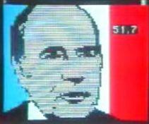 écran élection mitterrand 1981