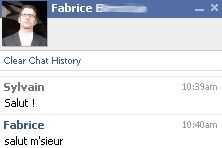chat sur facebook.com