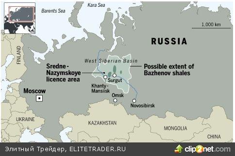 Россия делает ставку на крупнейшее месторождение сланцевой нефти