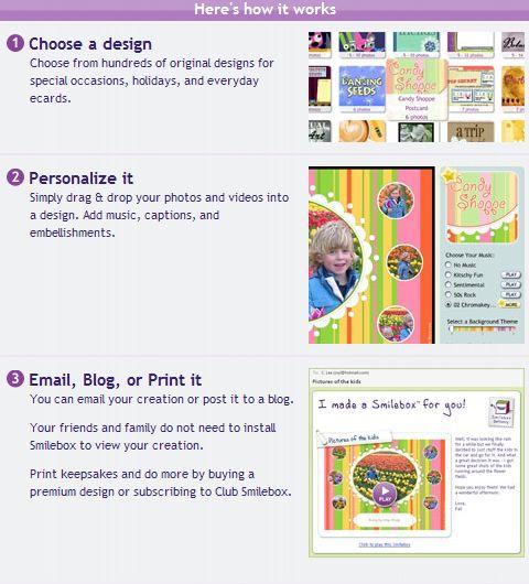 Smilebox. Создание онлайн-открыток и фотоальбомов
