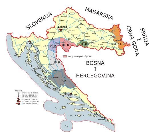 okupirani teritorij republike hrvatske prije oluje