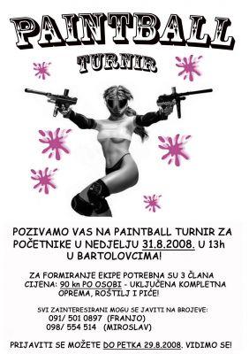 Pantball turnir Bartolovci 2008.