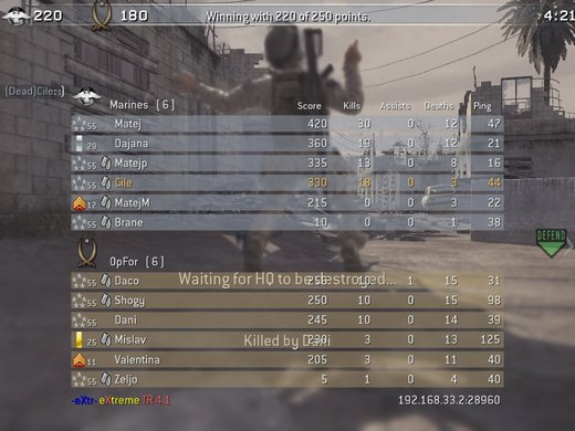 CoD4 multiplayer
