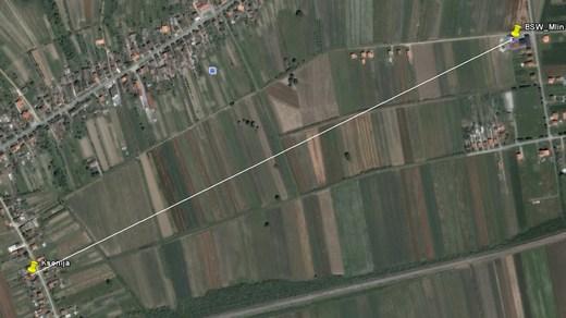 brodski stupnik satelitska snimka