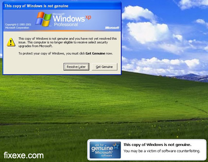 windows genuine advantage poruka