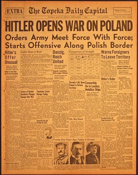 hitler napada poljsku