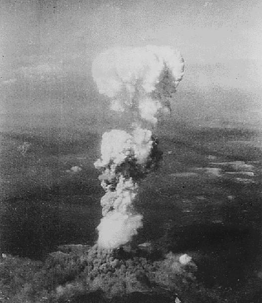 gljiva atomske eksplozije iznad hiroshime
