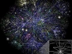 mapa interneta