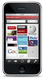 opera mini iphone mwc