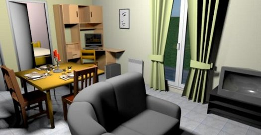 sweet home 3d prikaz sobe