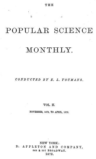 2. broj popular science 1872. godina