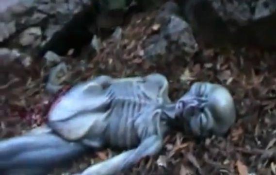 Нашли тело пришельца в горах Италии