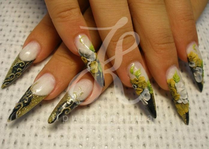 Ногтей пыль дизайн ногтей на море фото