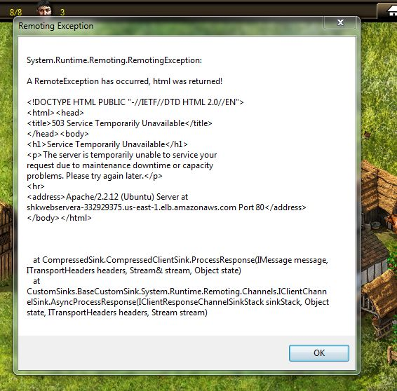 Remoting Exception