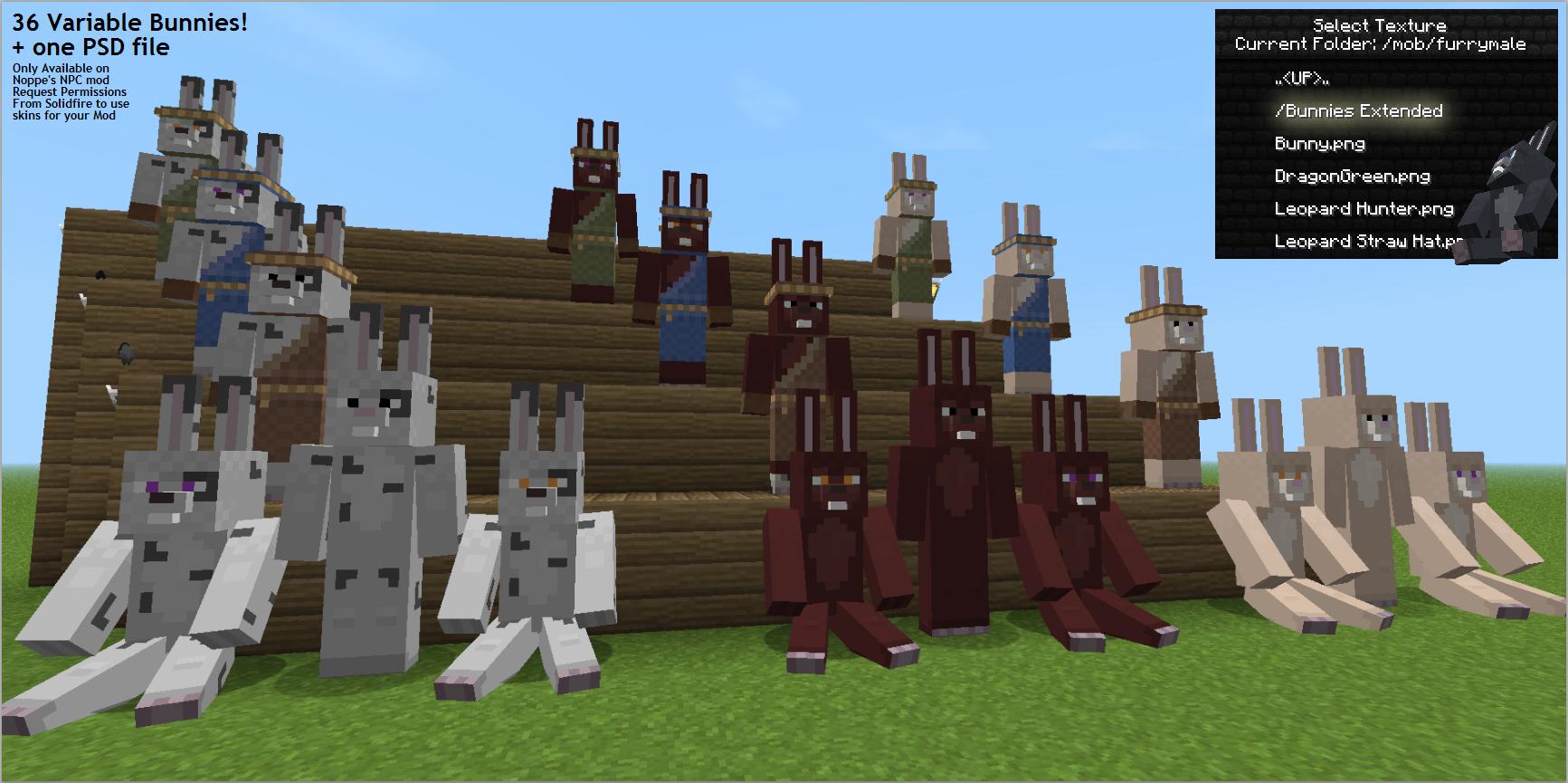 Custom NPCs - Minecraft Mods - Mapping and Modding: Java