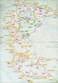mapa vojne akcije oluja
