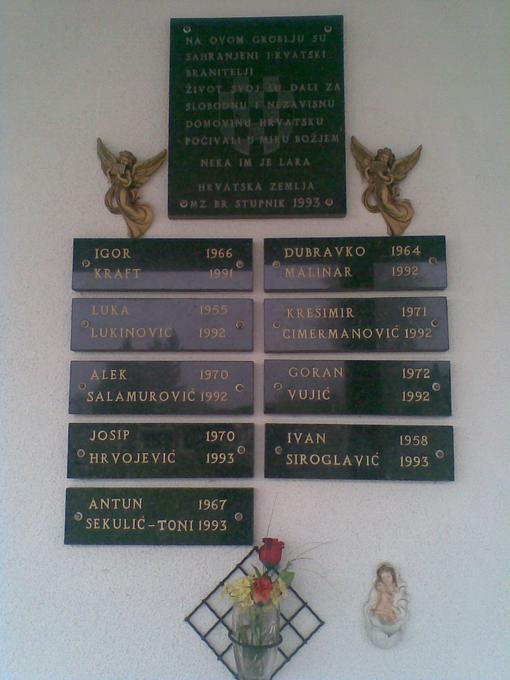Branitelji iz Brodskog Stupnika poginuli u Domovinskom ratu