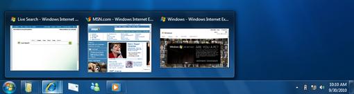windows 7 taskbar