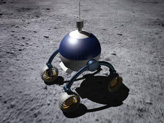 tesla moon rover