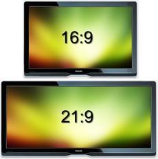 16:9 vs 21:9