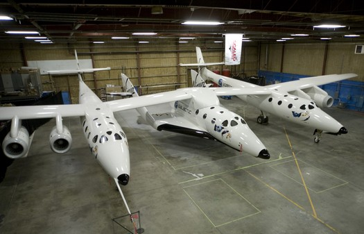 space ship two i white knight two