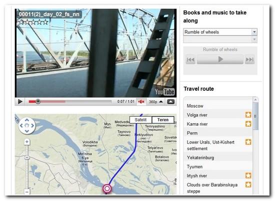 google trans sibirska željeznica video