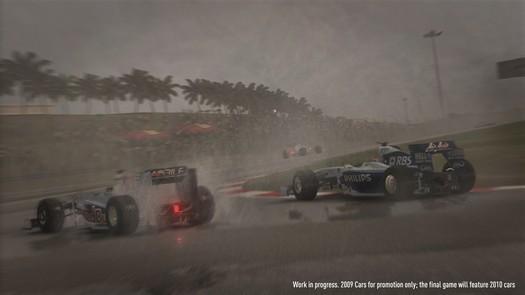 f1 2010 kiša na stazi