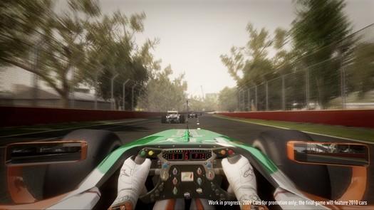 f1 2010 vozačev pogled iz bolida